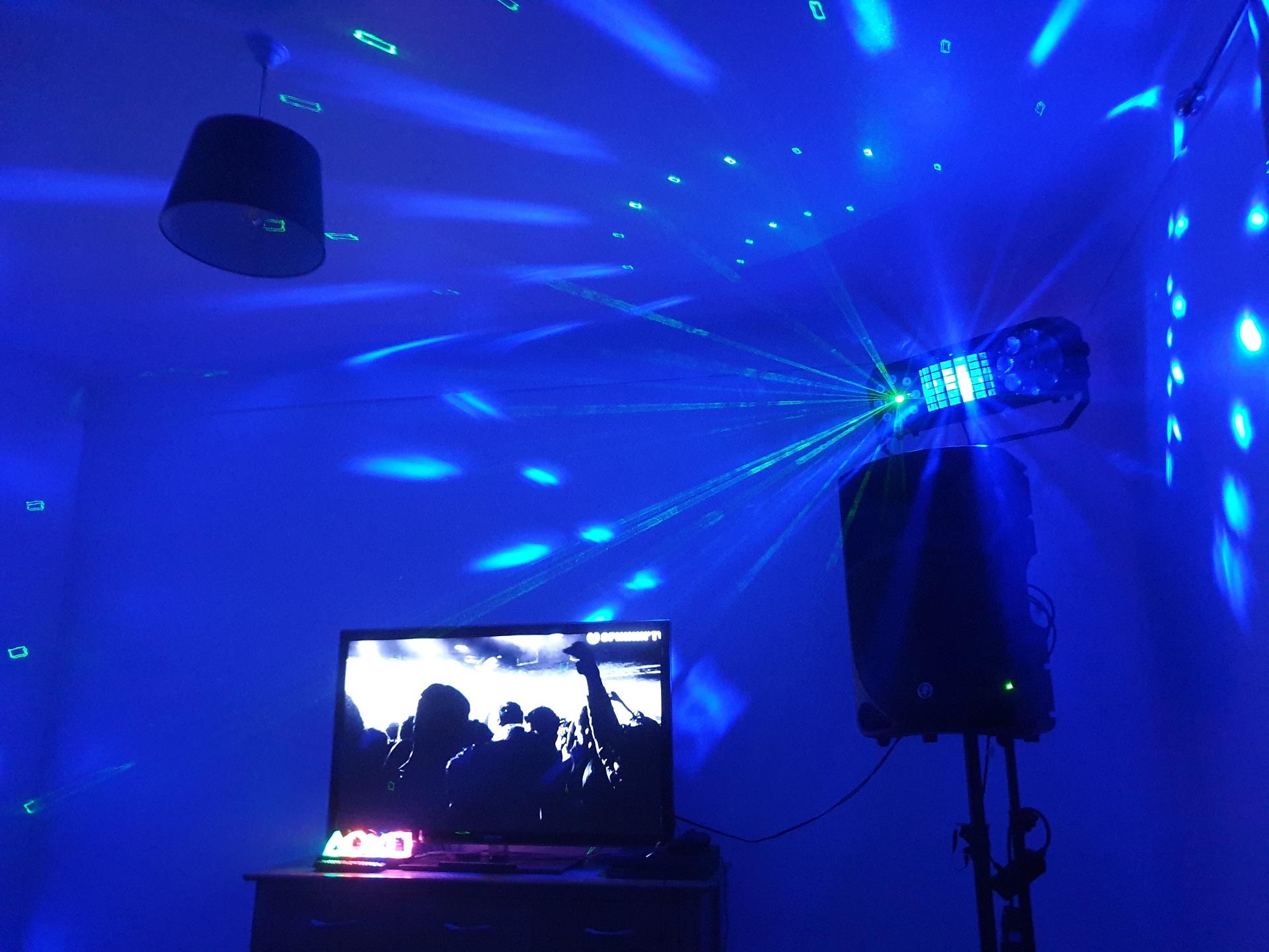 DJ Party Disco Light Hire Exeter Southampton House Garden Party Parties