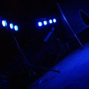 LED PAR Can PAR 64 Hire Rental Stage Exeter Southampton
