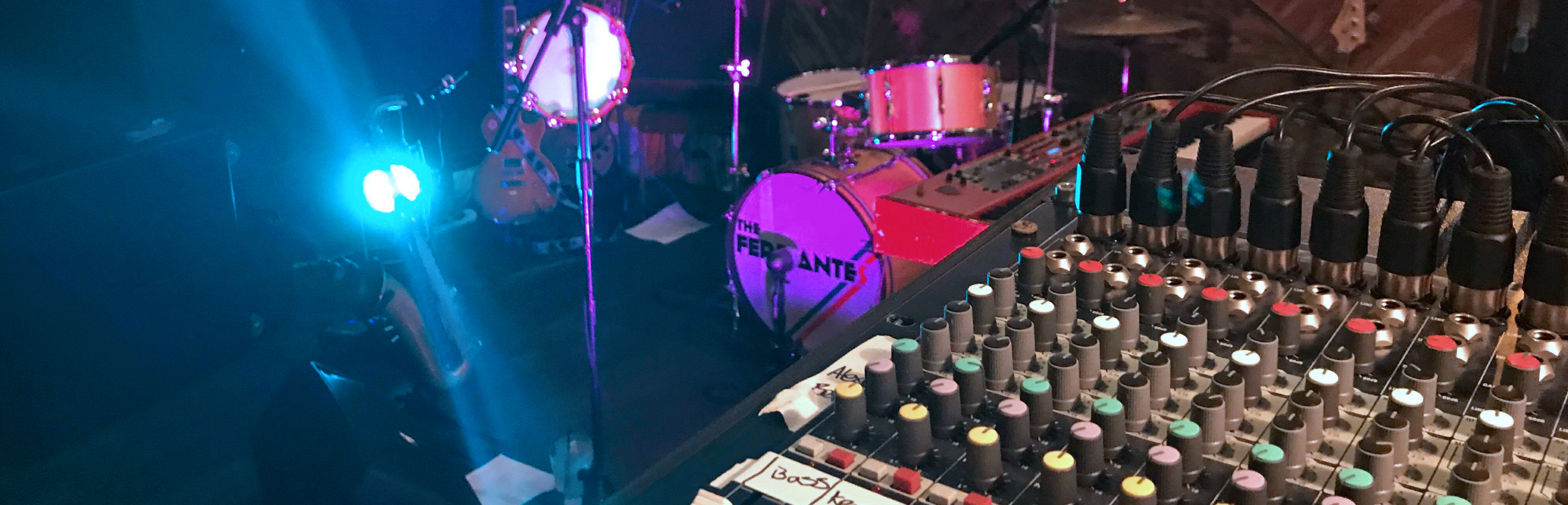 Live Music Sound Hire Band Equipment Rental Band Lighting Exeter Devon 1