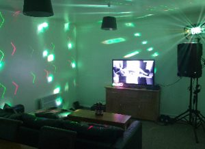 LiveSupport Event Services - Sound PA Stage Lighting Projector Hire Exeter Southampton - DIY Party Packages Garden House Party 7