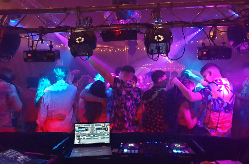 LiveSupport Event Services - Sound PA Stage Lighting Projector Hire Exeter Southampton - DJ Sound System Lighting Hire 5