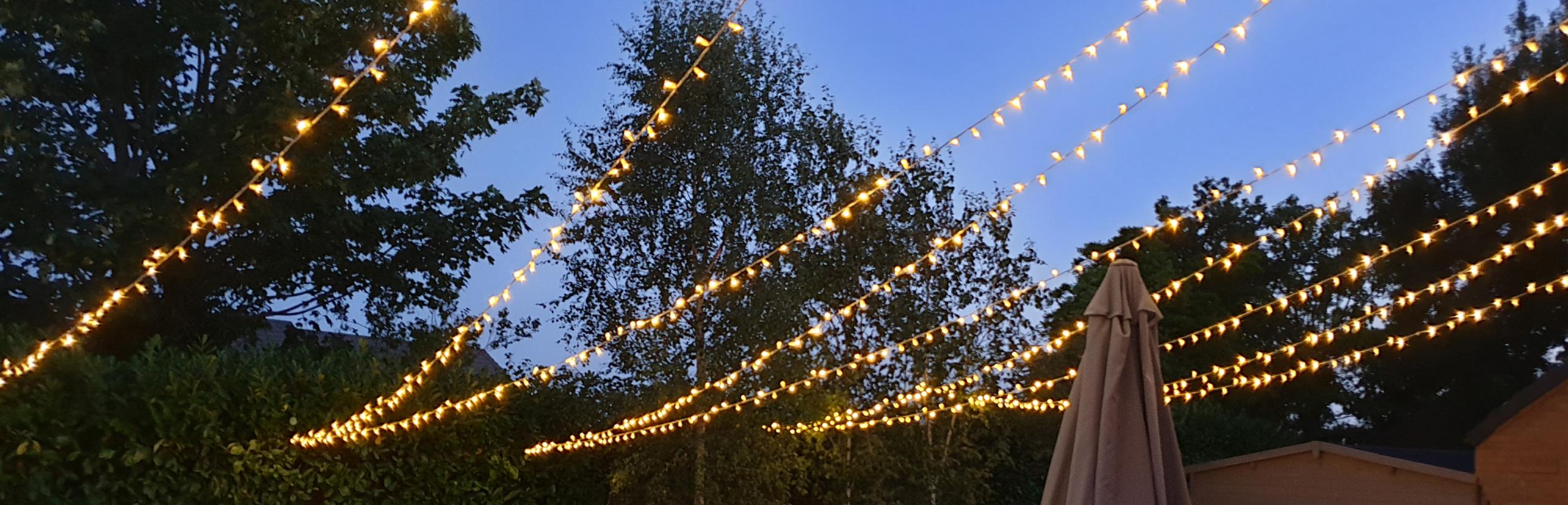Fairy Light Hire Wedding Lighting Rental Fairy Lighting Festoon Devon