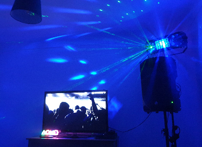 LiveSupport Event Services - Sound PA Stage Lighting Projector Hire Exeter Southampton - House Party DIY Disco Package Hire 4