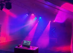 LiveSupport Event Services - Sound PA Stage Lighting Projector Hire Exeter Southampton - Mobile Nightclub Hire Night Club Rental 1