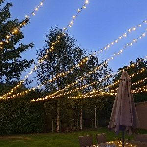 LiveSupport Event Services - Sound PA Stage Lighting Projector Hire Exeter Southampton - Outdoor IP Rated Fairy Lighting Lights Hire 3