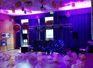 LiveSupport Event Services - Sound PA Stage Lighting Projector Hire Exeter Southampton - Special Birthday 18th Birthday 21st Birthday DJ Disco Sound Light Hire 6