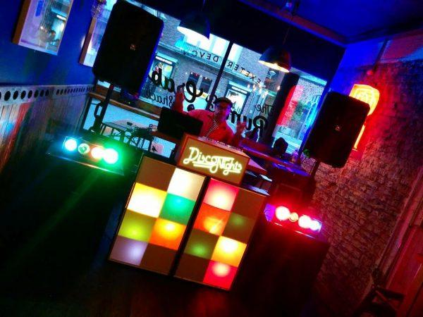Retro Disco Hire DJ Package Old School Skool Party Night Rental Exeter Southampton