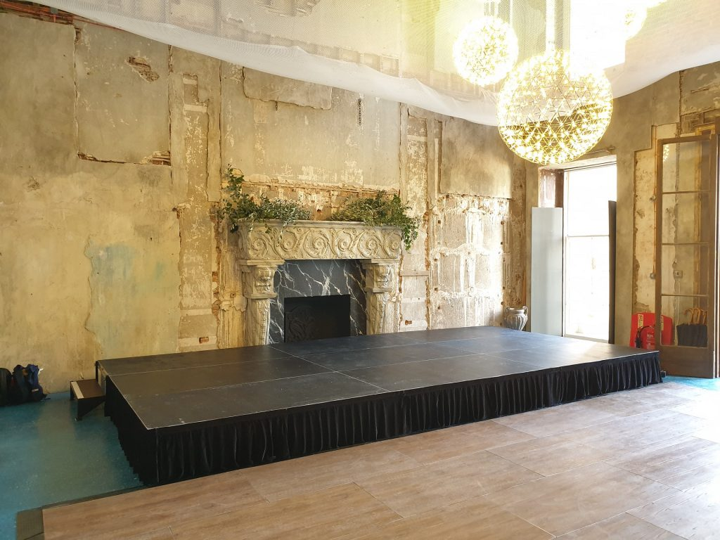 Stage Hire Exeter Southampton Indoor Wedding LiveSupport Event Services Cheap Rental