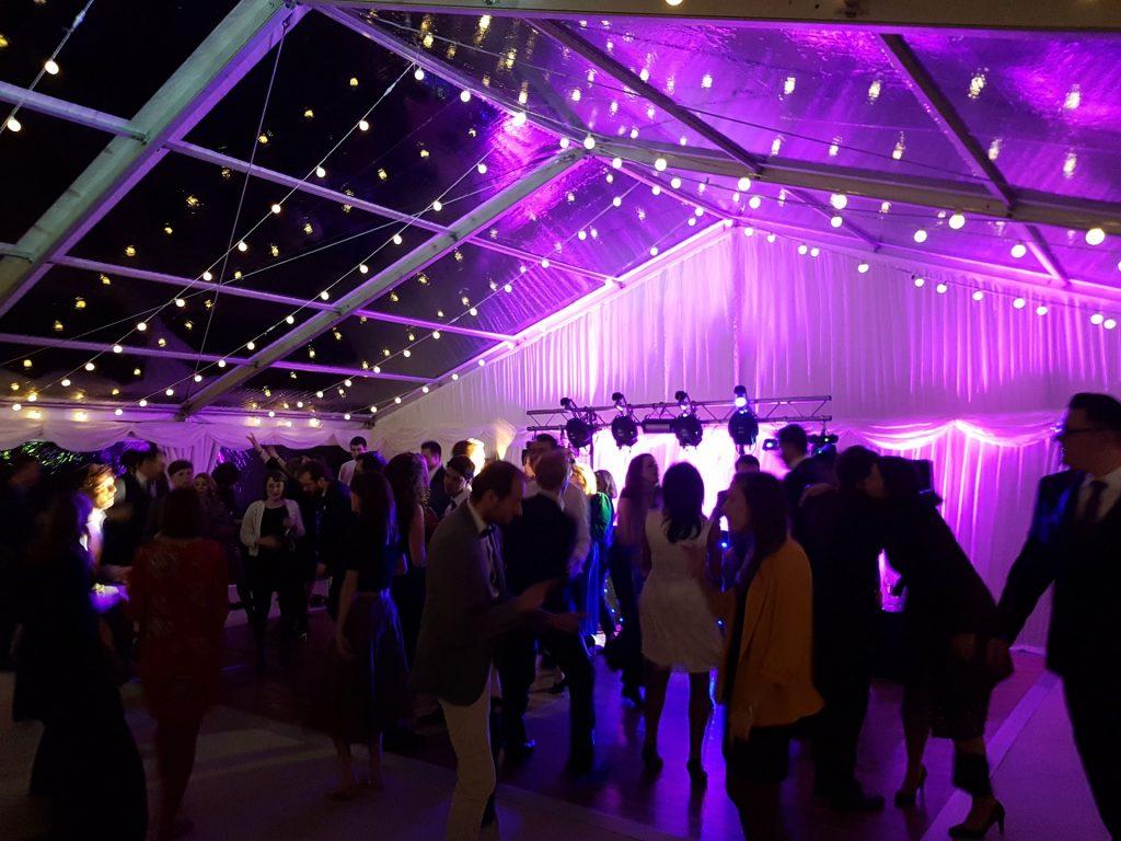 Wedding Fairy Light Uplighters Hire Uplighting Pink Exeter Southampton DJ Disco