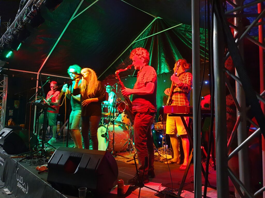 Stage Lighting Hire Exeter Stage Lights Rental LED Par Cans Pars to hire Theatre Festival Outdoor Devon